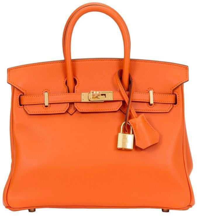 Hermes Birkin Swift 25 Orange