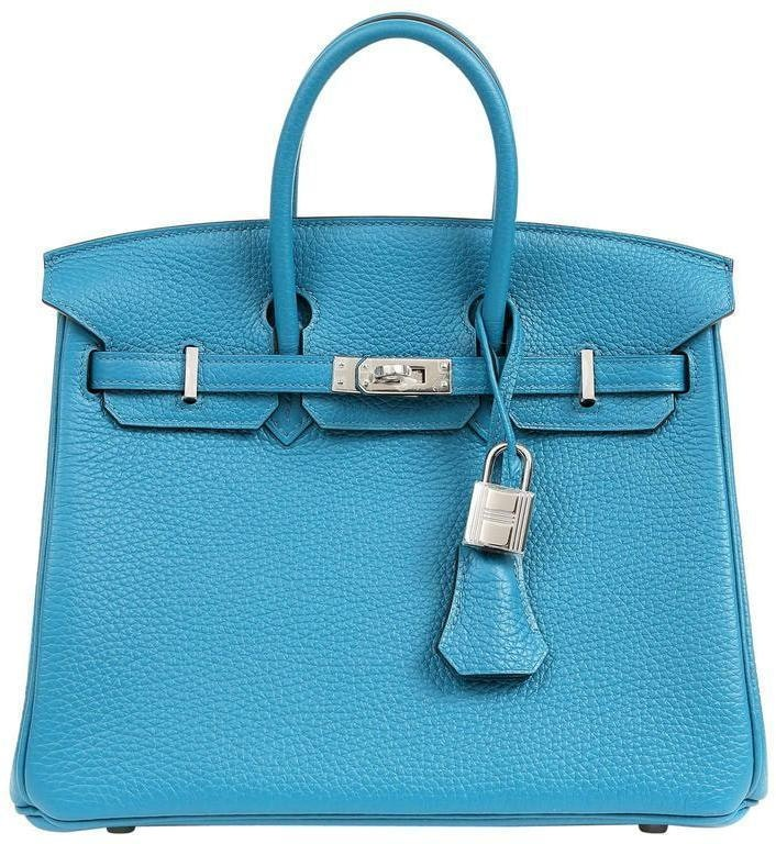 Hermes Birkin Togo 25 Blue Izmir
