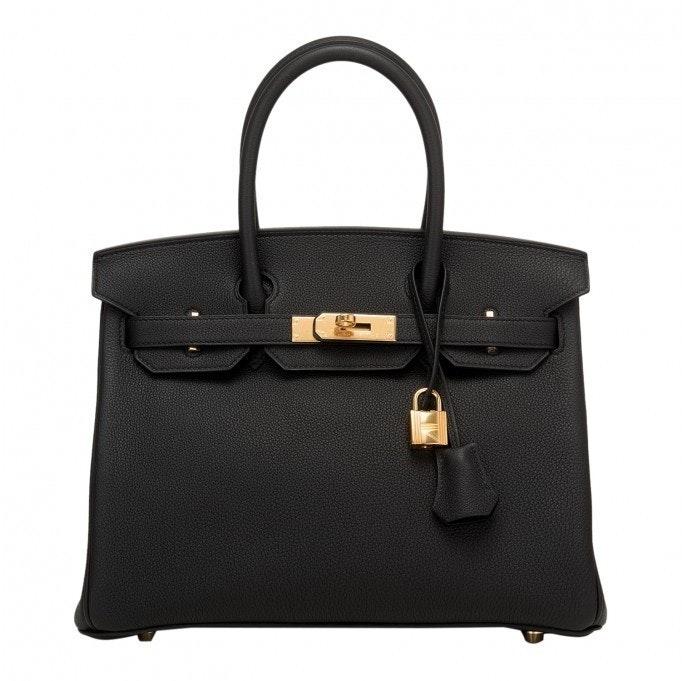 Hermes Birkin Togo 30 Black