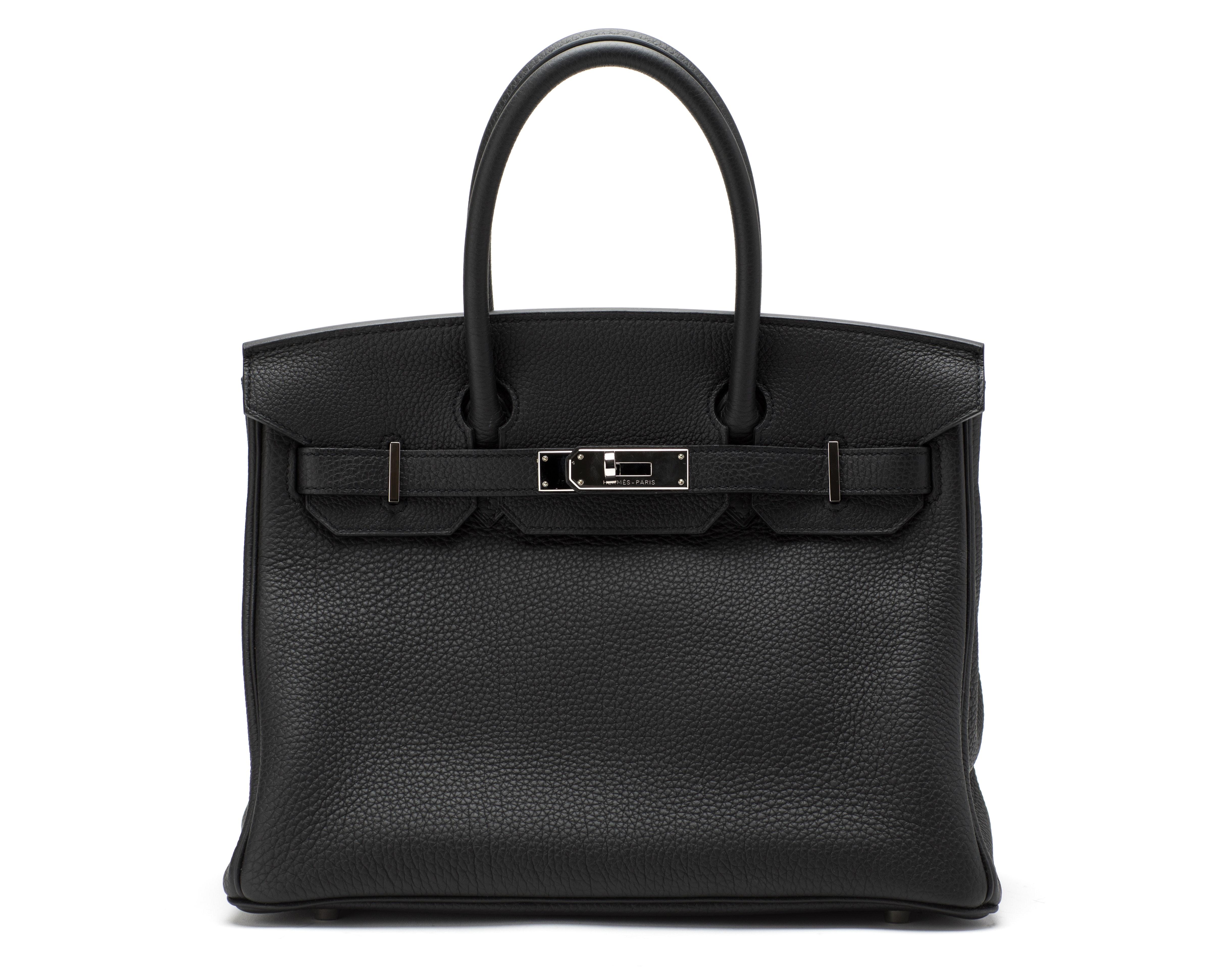 Hermes Birkin Togo 30 Noir