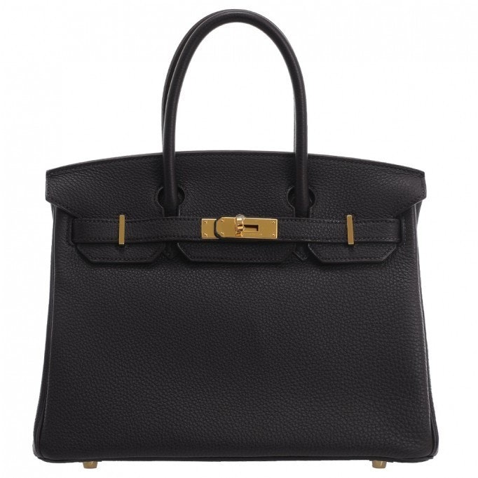 Hermes Birkin Togo 35 Black