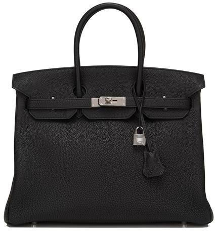 Hermes Birkin Togo 35 Noir