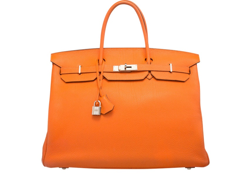 Hermes Birkin Togo 40 Orange