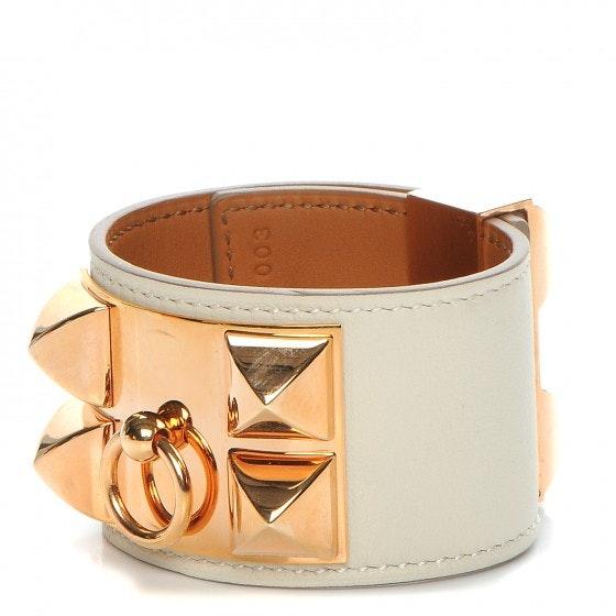 Hermes Bracelet Collier de Chien Swift S