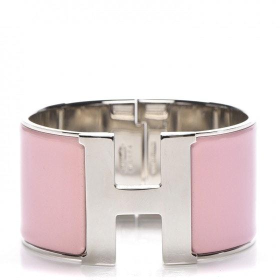 Hermes Bracelet Extra Wide Clic Clac H Enamel GM