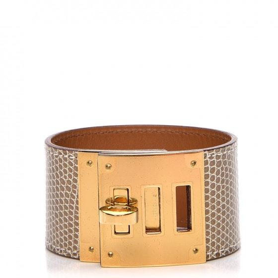 Hermes Bracelet Kelly Dog Lizard