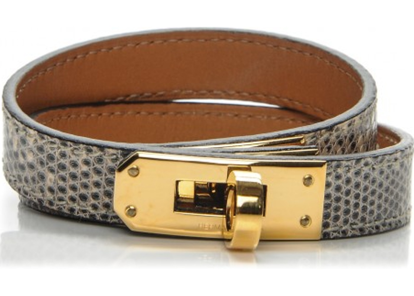 ce9da255653 Sell. or Ask. View All Bids. Hermes Bracelet Kelly Double Tour ...