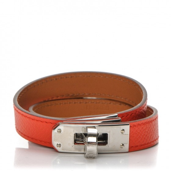 Hermes Bracelet Kelly Double Tour Epsom S