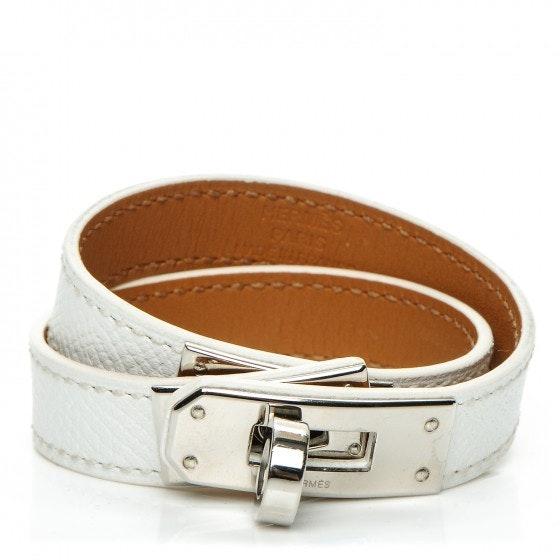 Hermes Bracelet Kelly Double Tour Epsom XS