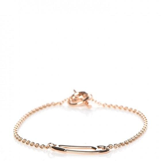 Hermes Bracelet Mini Chain D'Ancre Punk S