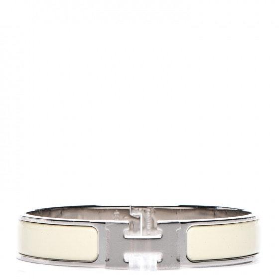 Hermes Bracelet Narrow Clic Clac H Enamel GM