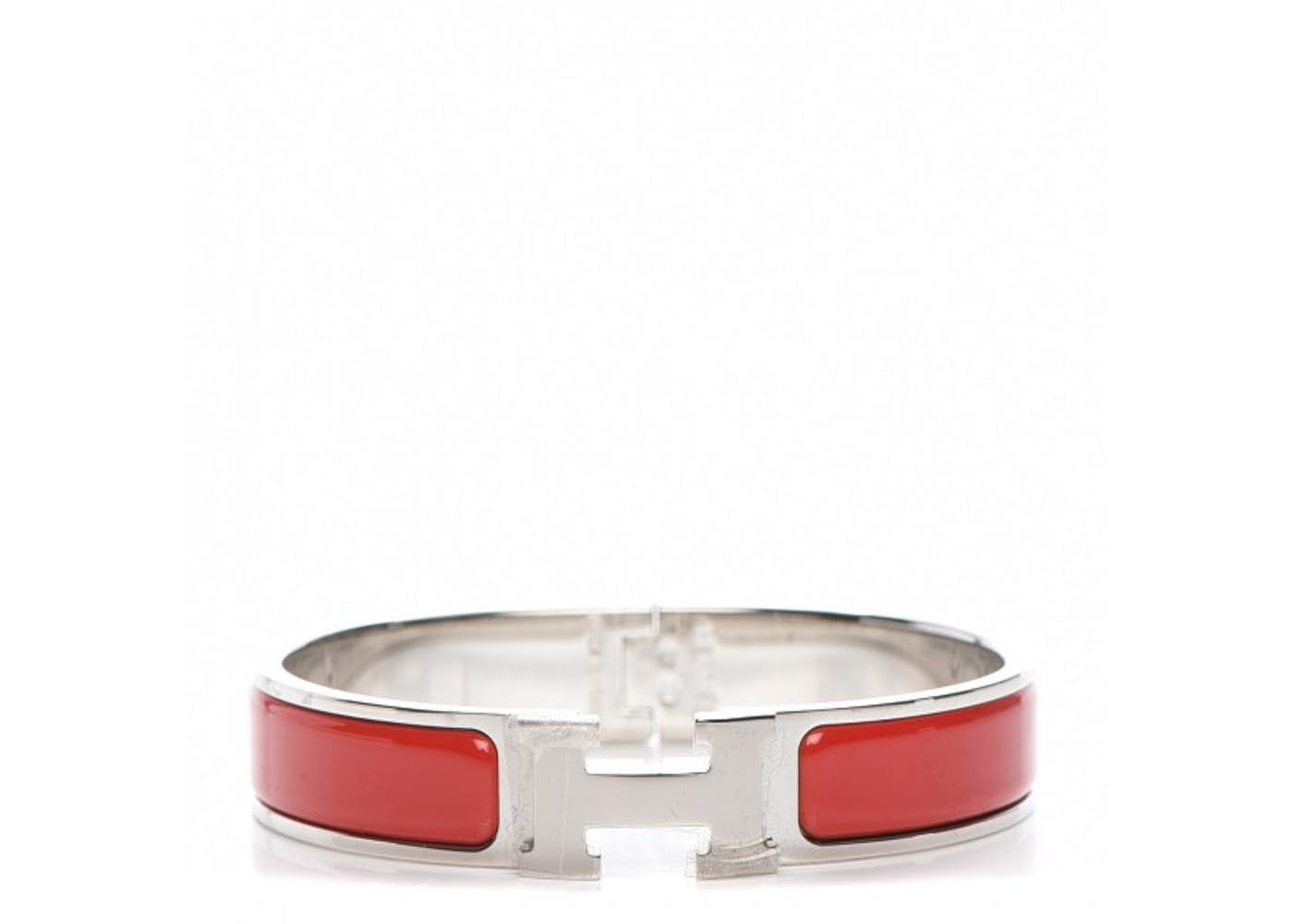 hermes bracelet narrow clic clac h enamel pm. Black Bedroom Furniture Sets. Home Design Ideas