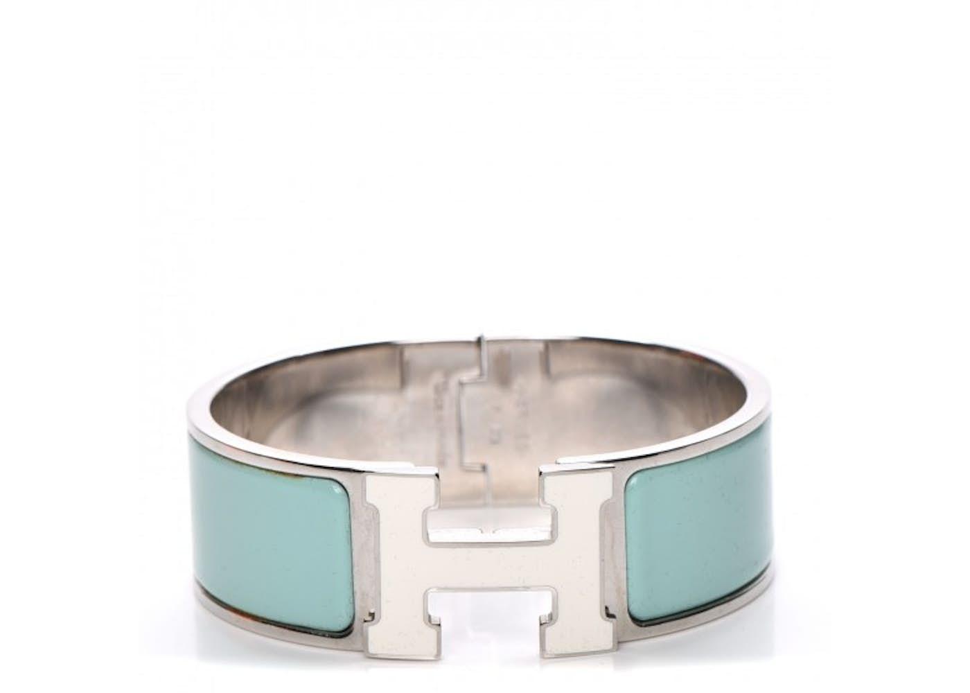 hermes bracelet wide clic clac h enamel pm. Black Bedroom Furniture Sets. Home Design Ideas