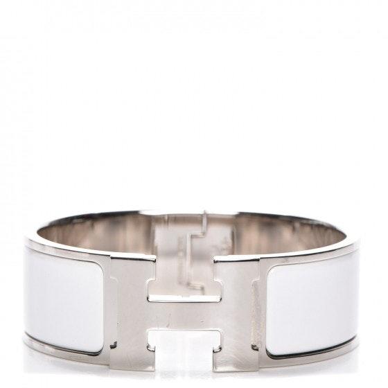 Hermes Bracelet Wide Clic Clac H Enamel PM
