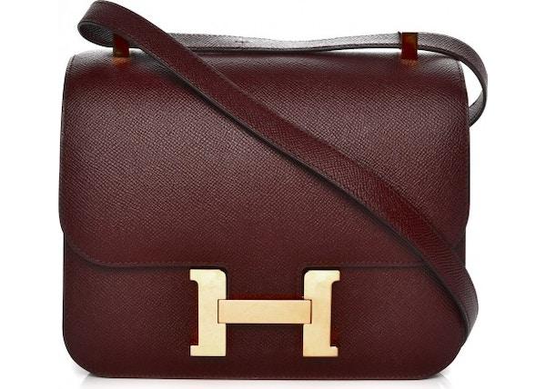 e82dda9cc18a Buy   Sell Hermes Constance Handbags - Average Sale Price