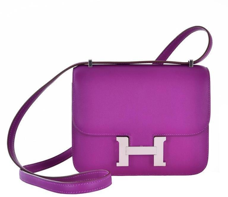 Hermes Constance Swift Mini Anemone