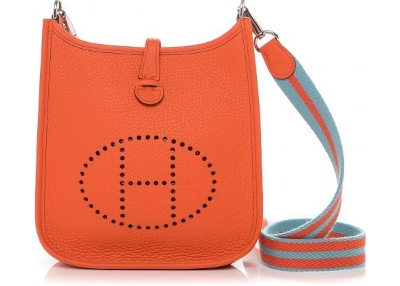 d67e71ef4e6b Hermes Messenger Evelyne I Clemence Amazon Strap TPM Orange ...