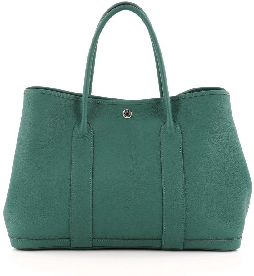 Hermes Garden Party Tote Negonda 36 Malachite