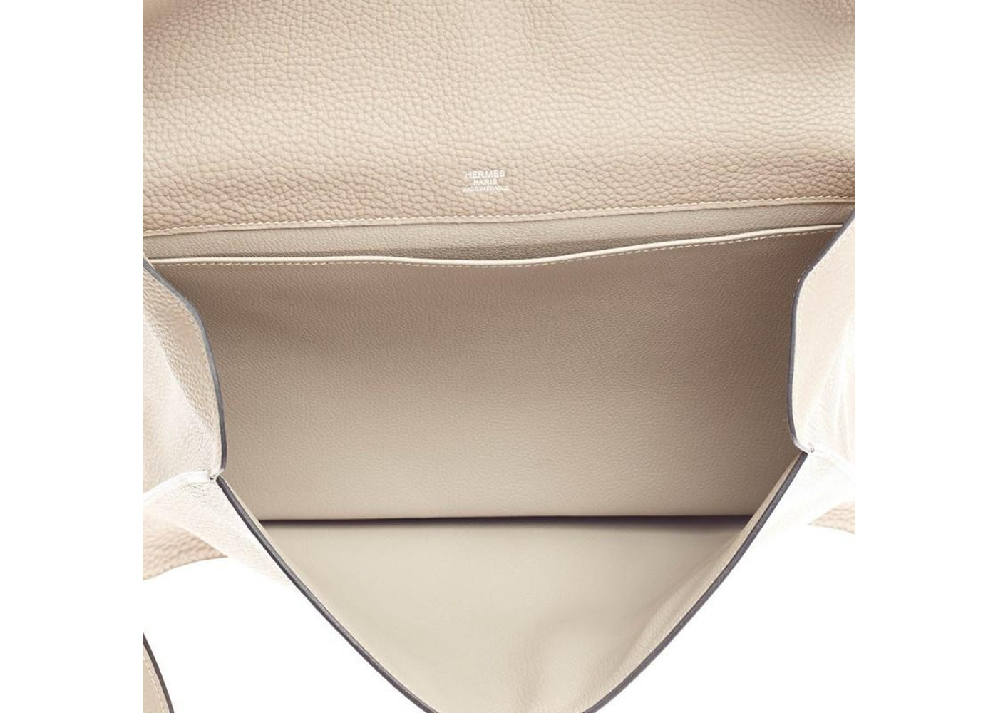 ebc9c785a2 Hermes Handbag Etribelt Togo Gris Tourterelle
