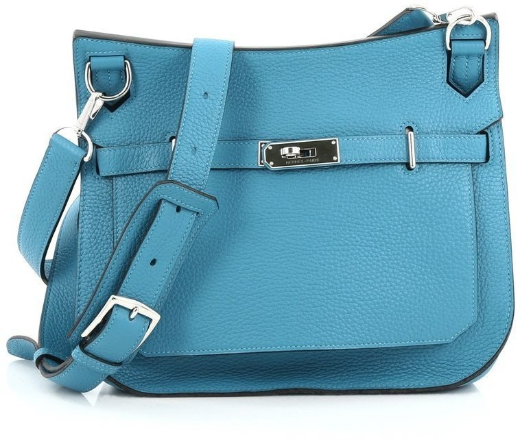 Hermes Jypsiere Clemence 28 Turquoise