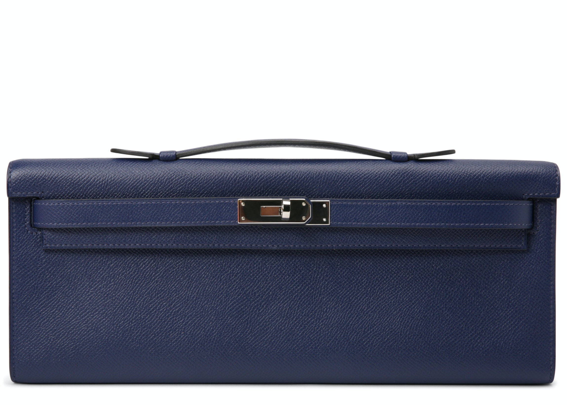 Hermes Kelly Cut Swift Blue Sapphire