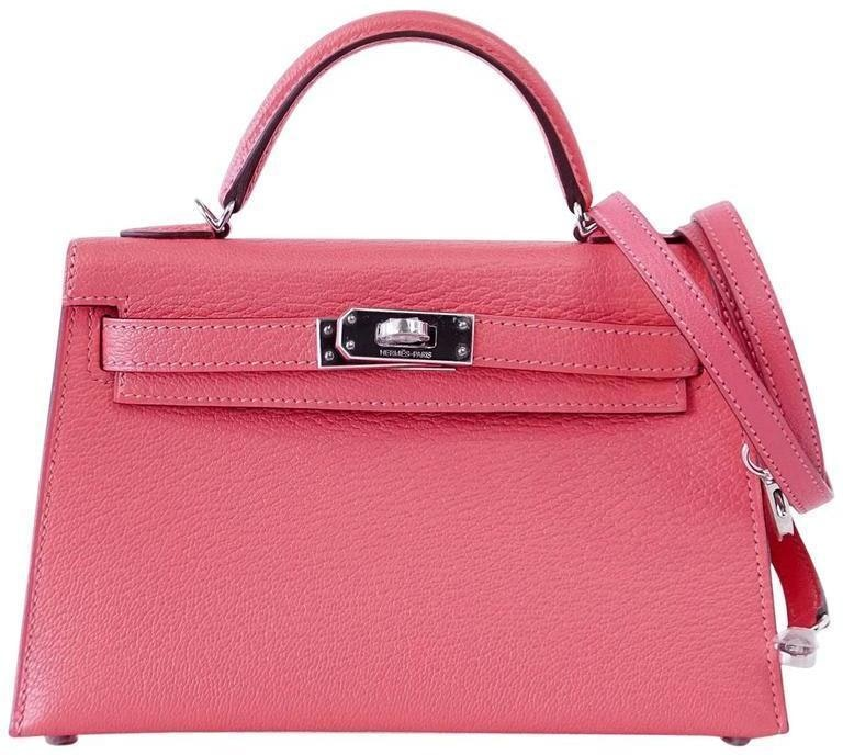 Hermes Kelly Sellier Chevre 20 Rose Lipstick