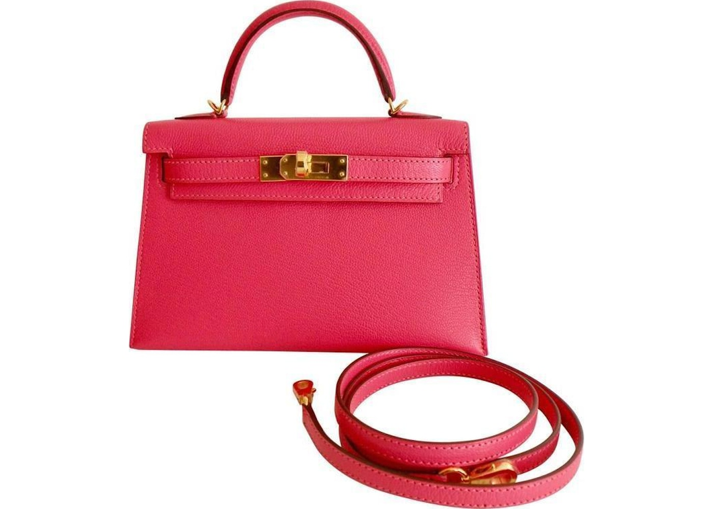 3edf13caa67a Sell. or Ask. View All Bids. Hermes Kelly Sellier Epsom 20 Rose Lipstick