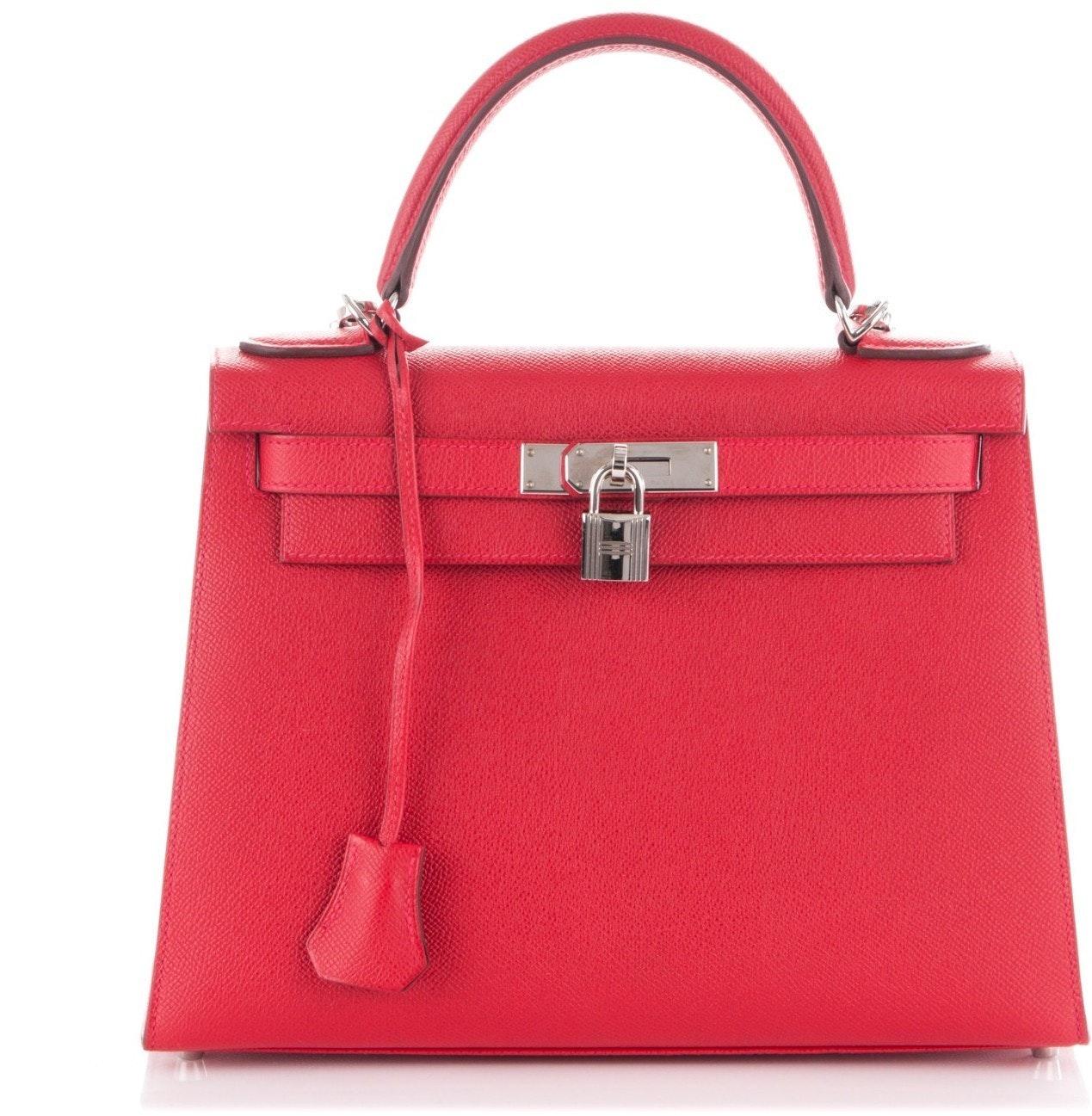 Hermes Kelly Sellier Epsom 28 Rouge Casaque