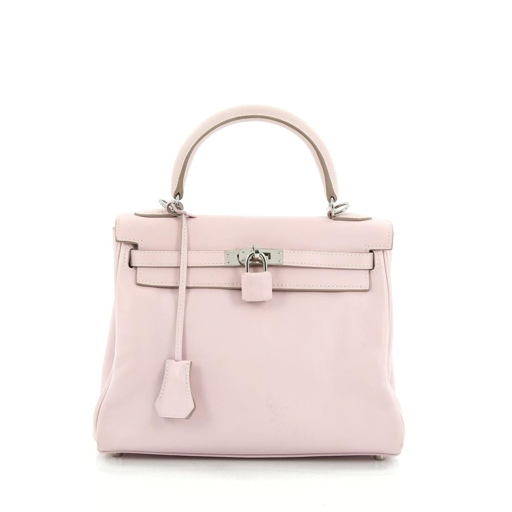 Hermes Kelly Swift 25 Rose Dragee