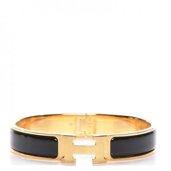 Hermes Bracelet Narrow Clic Clac H Enamel PM