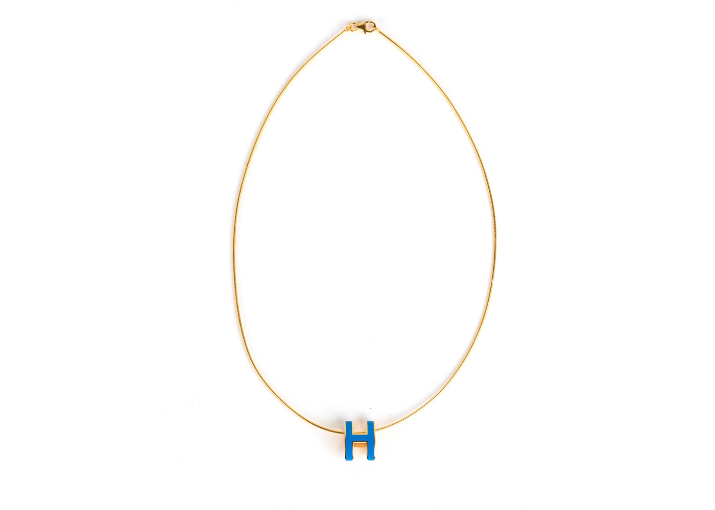Hermes necklace pop h pendant lacquered aloadofball Gallery