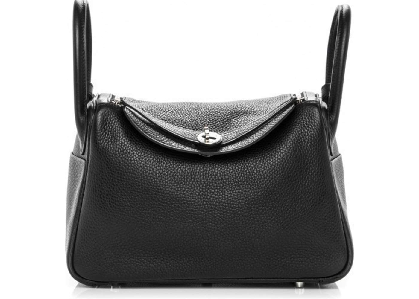 9f561e57476b Hermes Lindy Clemence 30 Noir Black