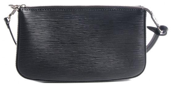 Louis Vuitton Accessories Pochette Epi NM Noir Black