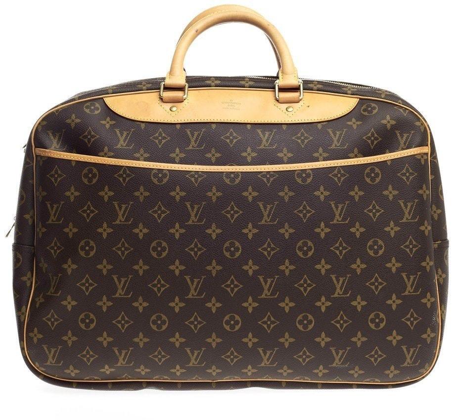 Louis Vuitton Alize 24 Heures Monogram Brown