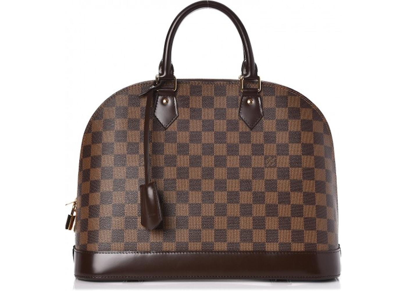f61bd4e8456 Louis Vuitton Alma Damier Ebene MM Brown. Damier Ebene MM Brown