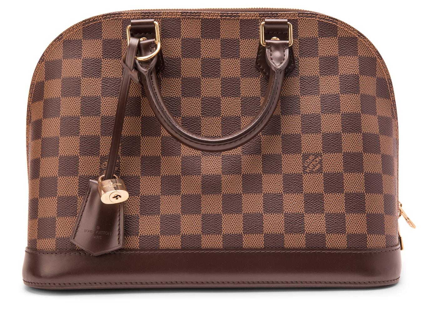 e83d0df6d4f4 Louis Vuitton Alma Damier Ebene PM Brown. Damier Ebene PM Brown