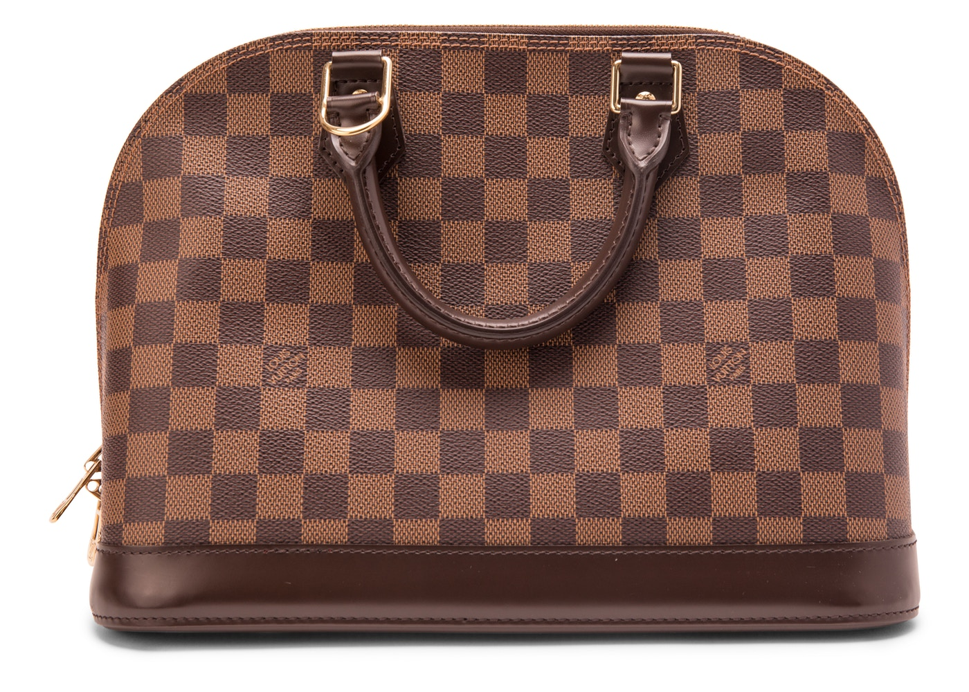 abc808ed35a8 Sell. or Ask. View All Bids. Louis Vuitton Alma Damier Ebene PM Brown
