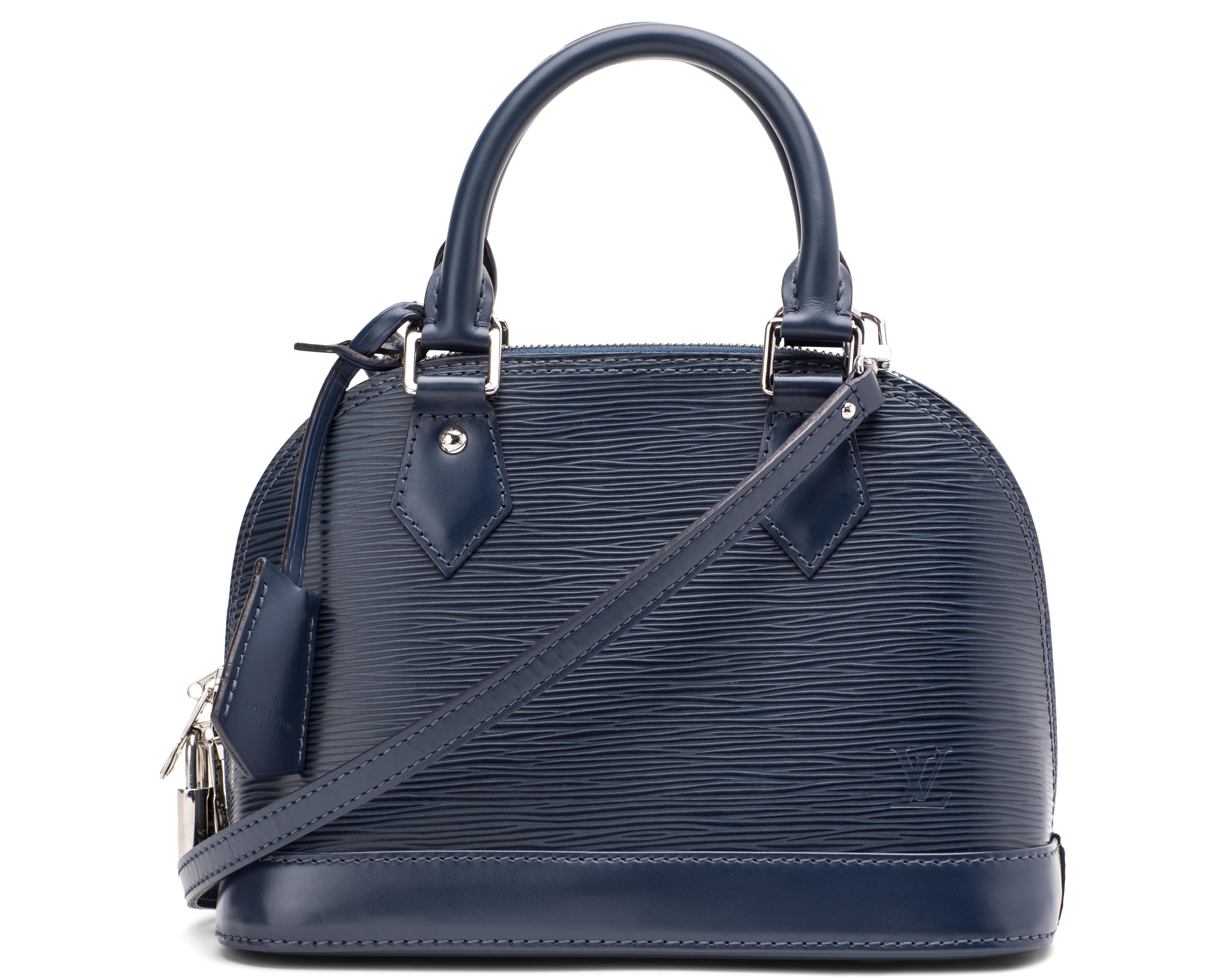 Louis Vuitton Alma Epi Bb Indigo