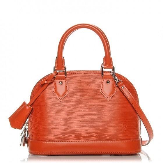 Louis Vuitton Handbag Alma Epi BB Piment