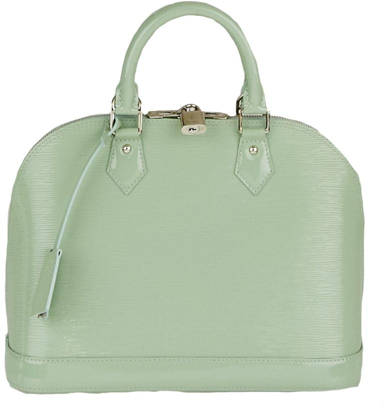 Louis Vuitton Alma Epi Electric PM Green