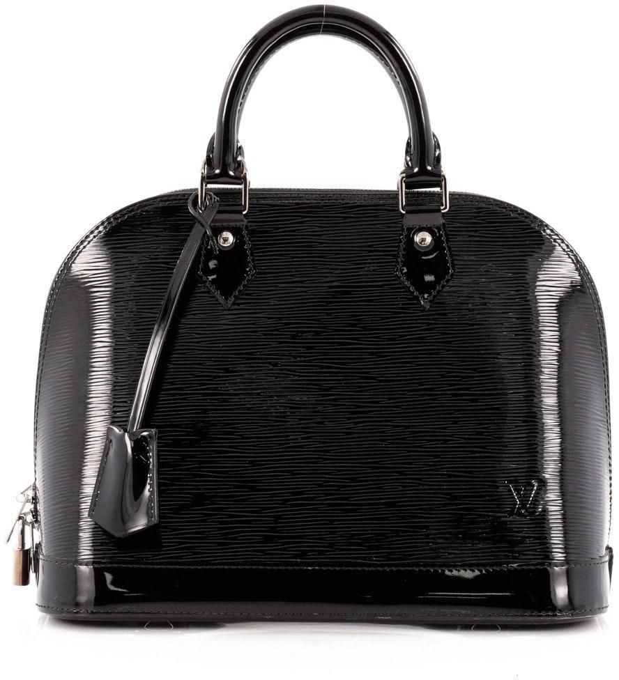 Louis Vuitton Alma Epi Electric PM Black