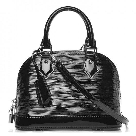 Louis Vuitton Alma Epi Electric With Accessories BB Noir Black