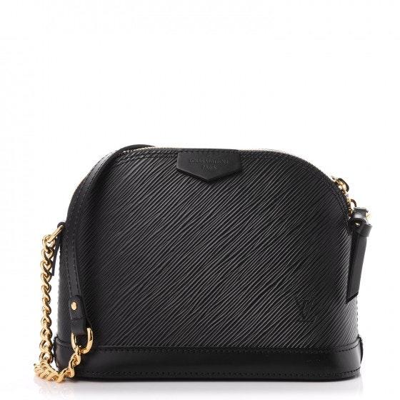 Louis Vuitton Alma Epi Mini Noir Black