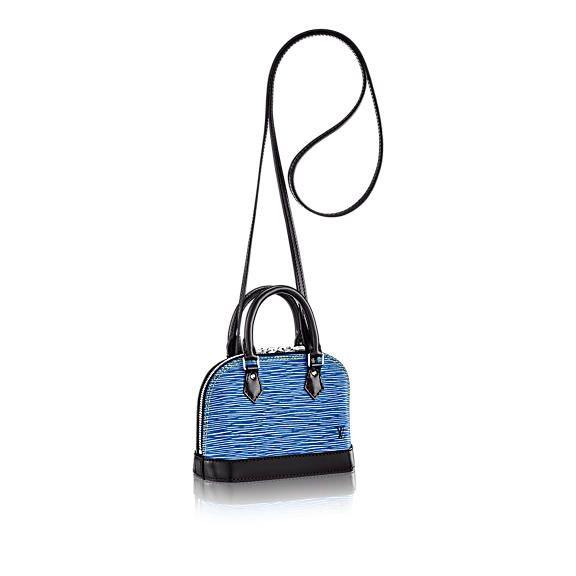 Louis Vuitton Alma Epi Nano Denim