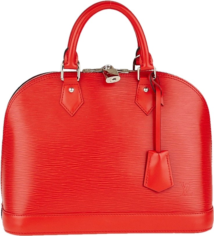Louis Vuitton Alma Epi PM Coquelicot