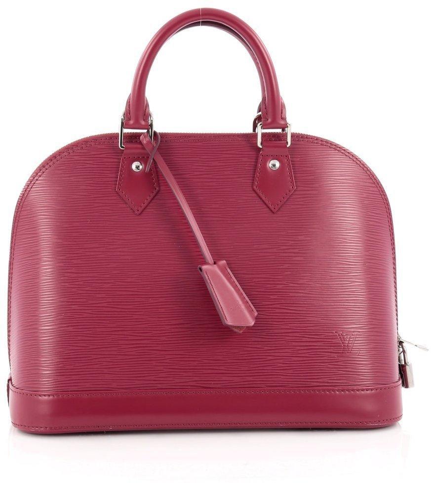 Louis Vuitton Alma Epi Pm Fuchsia