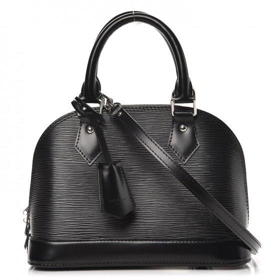 Louis Vuitton Alma Epi With Accessories BB Noir Black