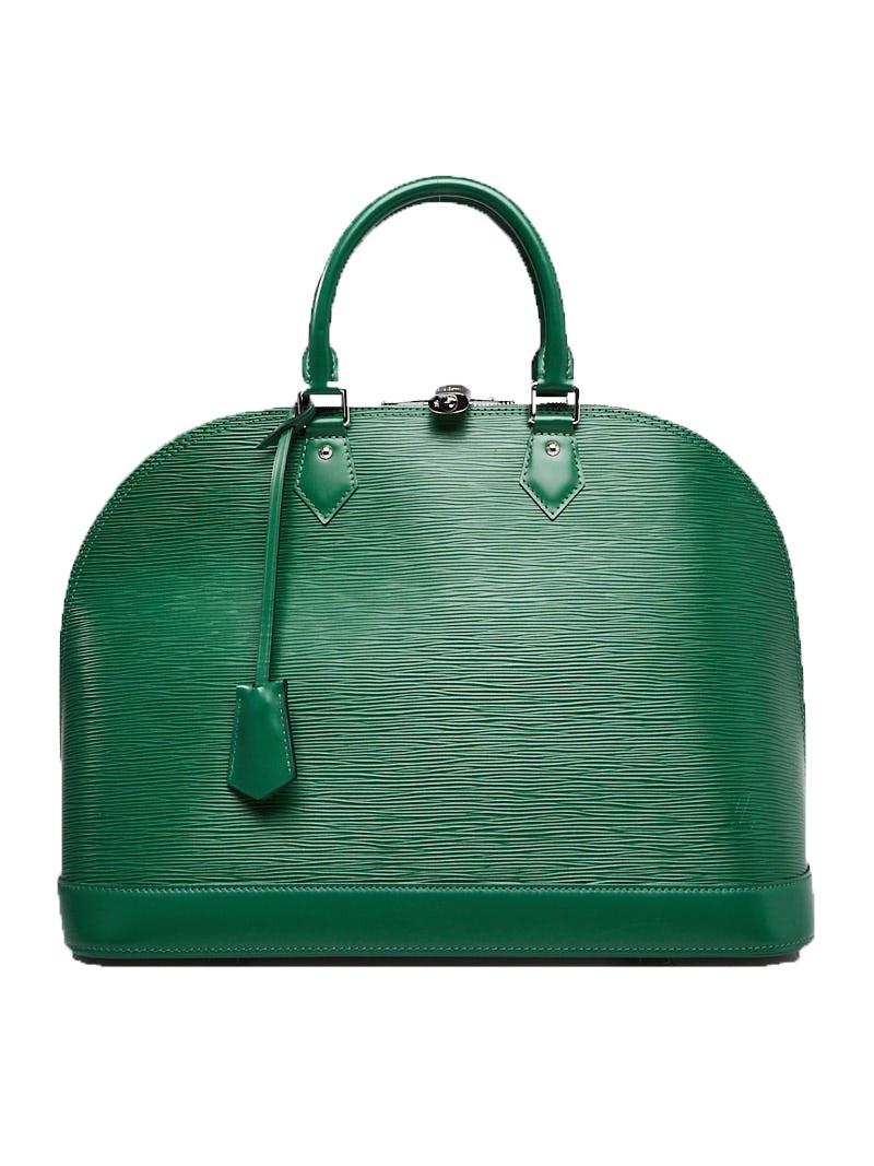 Louis Vuitton Alma Epi Gm Menthe