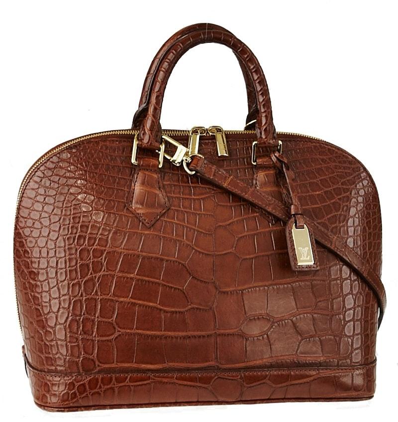 Louis Vuitton Alma BB Brown