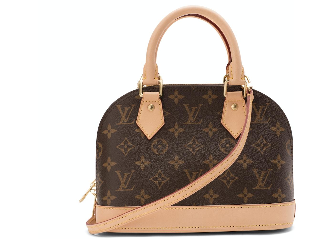 67321dba8971 Louis Vuitton Alma Monogram BB Brown. Monogram BB Brown